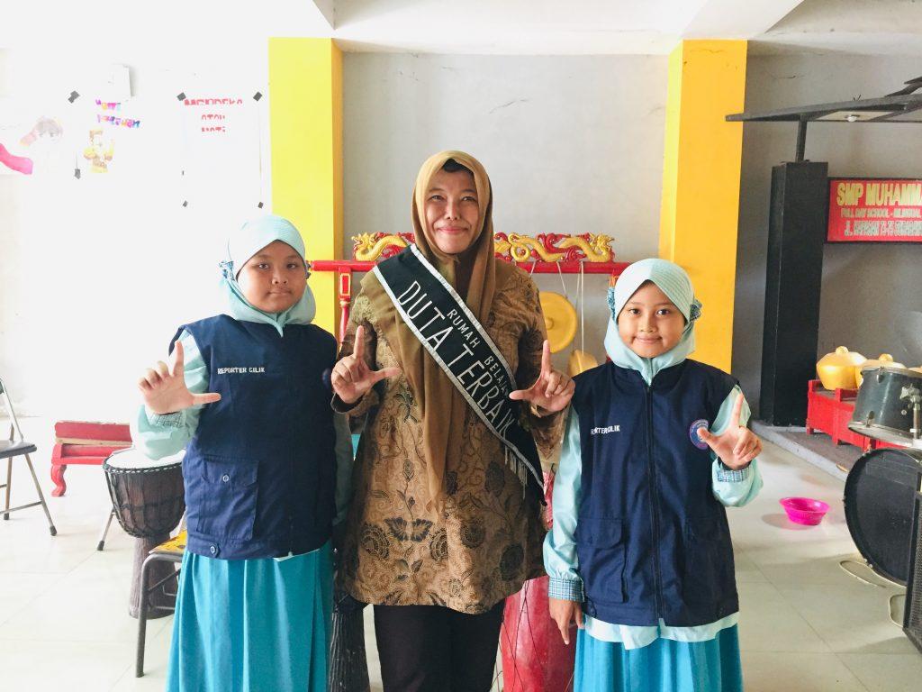 Raden Roro Martiningsih; Berjuang agar Guru Melek IT ditulis oleh Ria Pusvita Sari, Humas SD Muhammadiyah Manyar (SDMM) Gresik.