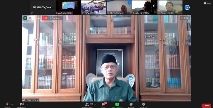 Mari jaga karakter Muhammadiyah. Ajakan itu disampaikan oleh Ketua Umum Pimpinan Pusat (PP) Muhammadiyah Prof Dr H Haedar Nashir MSi.