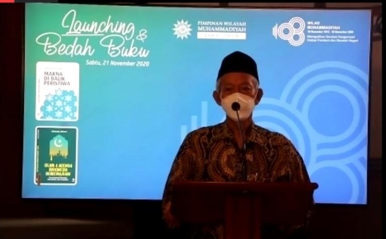 Muhammadiyah teladan berpikir proyektif serta konsisten dan bertanggungjawab, dalam tataran ontologi, epistemologi, dan aksiologi.