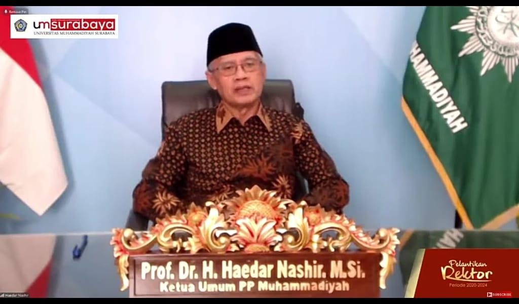 Kompetisi global, Perguruan Tinggi Muhammadiyah harus fastabiqul khairat. Hal itu diungkapkan oleh Ketua Umum PP Muhammadiyah Prof Dr H Haedar Nashir MSi.