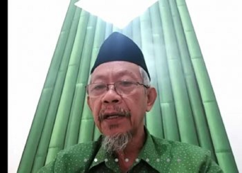 Bangun keunggulan sekolah Muhammadiyah dengan sinergi disampaikan Dr KH Saad Ibrahim MA, Sabtu (19/12/20).