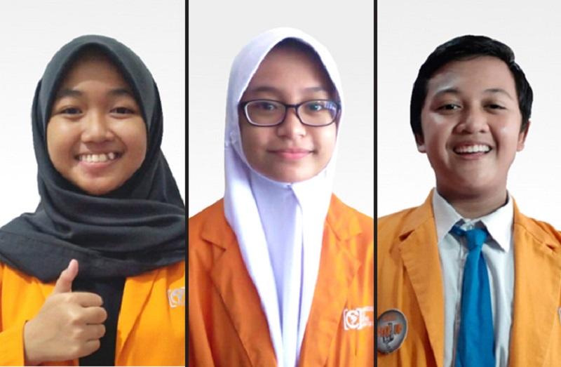 Tiga siswa Spemdalas meraih juara Pidato Bahasa Inggris Muhammadiyah Education Award Special Edition 2020, Sabtu (26/12/20).