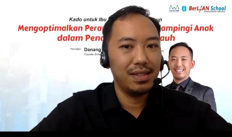 Tiga syarat komunikasi efektif antara orangtua dan anak disampaikan Psikolog Danang Setyo Budi Baskoro MPsi, Kamis (31/12/20).