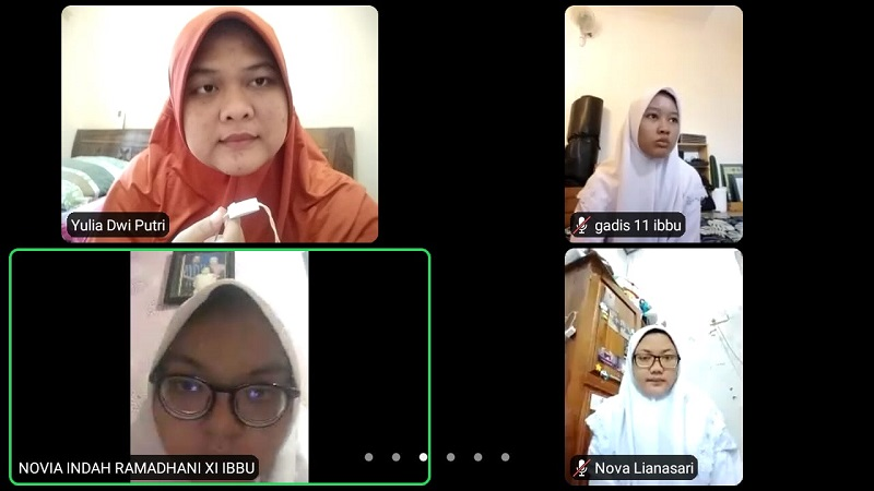Spiritual Morning Activity Smamsatu dilaksanakan untuk bisa menjalin bersilaturahmi dengan siswa dan guru di masa pandemi Covid-19  secara daring via zoom, video call maupun Google Meet.