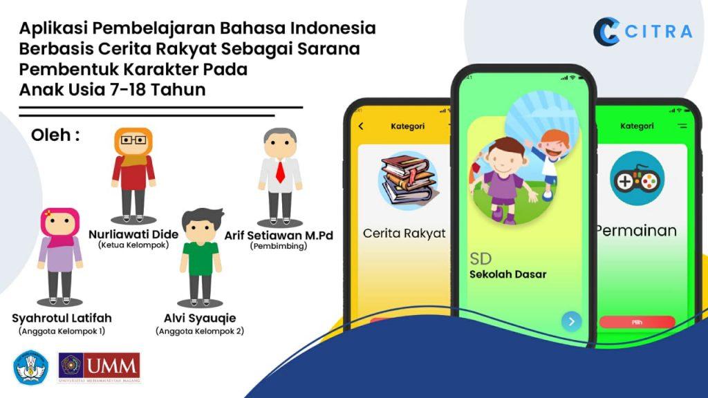 Aplikasi Citra yang digagas oleh Mahasiswa UMM (Maharina/PWMU.CO)