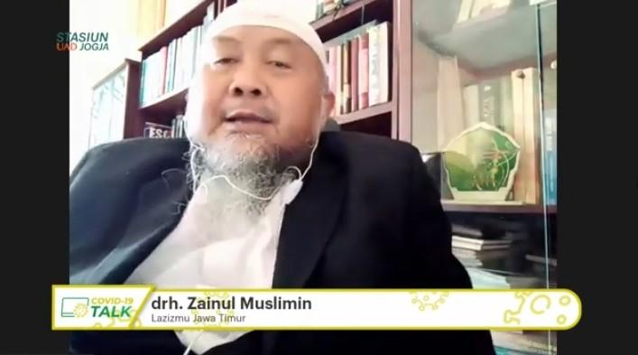 Lazismu Jatim bergerak cepat untuk umat saat pandemi. Hal itu diungkapkan Ketua Lazismu Jatim drh Zainul Muslimin.