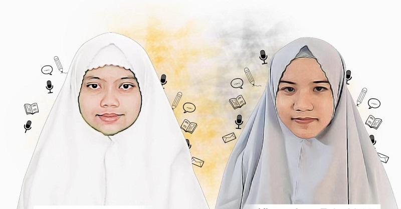 Tuhan, Menyusuri Pandemi Ini, Aku menjad judul puisi terbaik karya siswa Spemdalas dalam Spectacular Math Event (SME) yang diselenggarakan Universitas Muhammadiyah Gresik (UMG), (28/1/21).