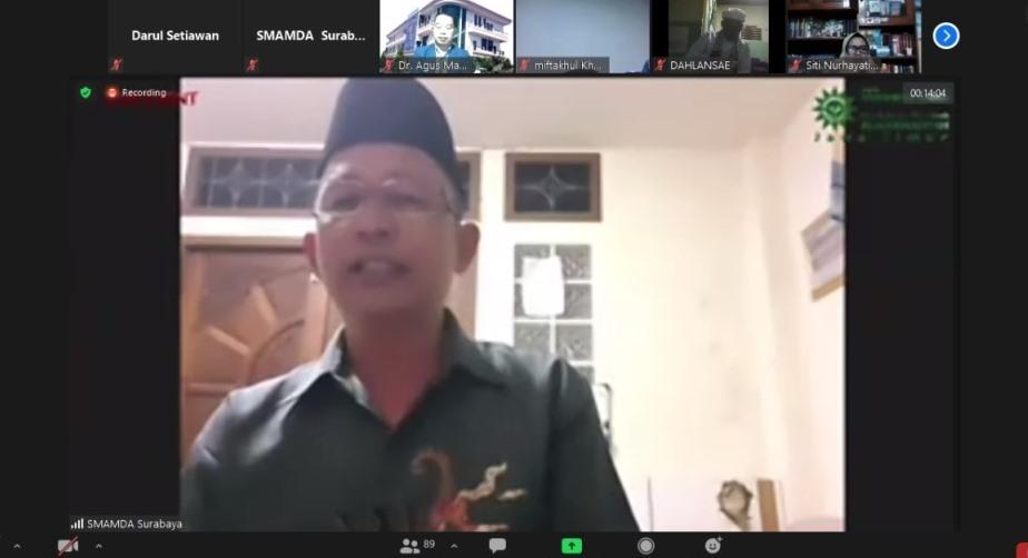 Punya 4.000 masjid, populasi warga muslim 10 persen dari jumlah penduduk di Thailand, menjadi tantangan Dr Abdul Hafiz Hilley, alumnus UNY.