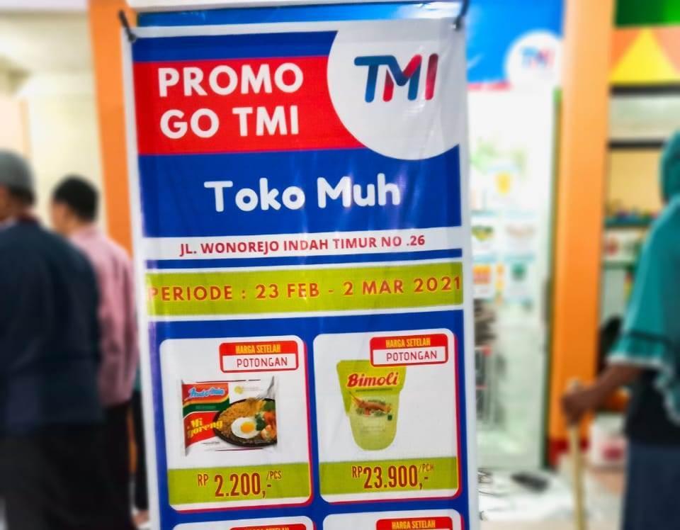 Toko Muh, toserba rintisan PCM Rungkut, dilaunching. Menjadi amanat muktamar dalam jihad ekonomi serta menjaga stabilitas perekonomian umat.