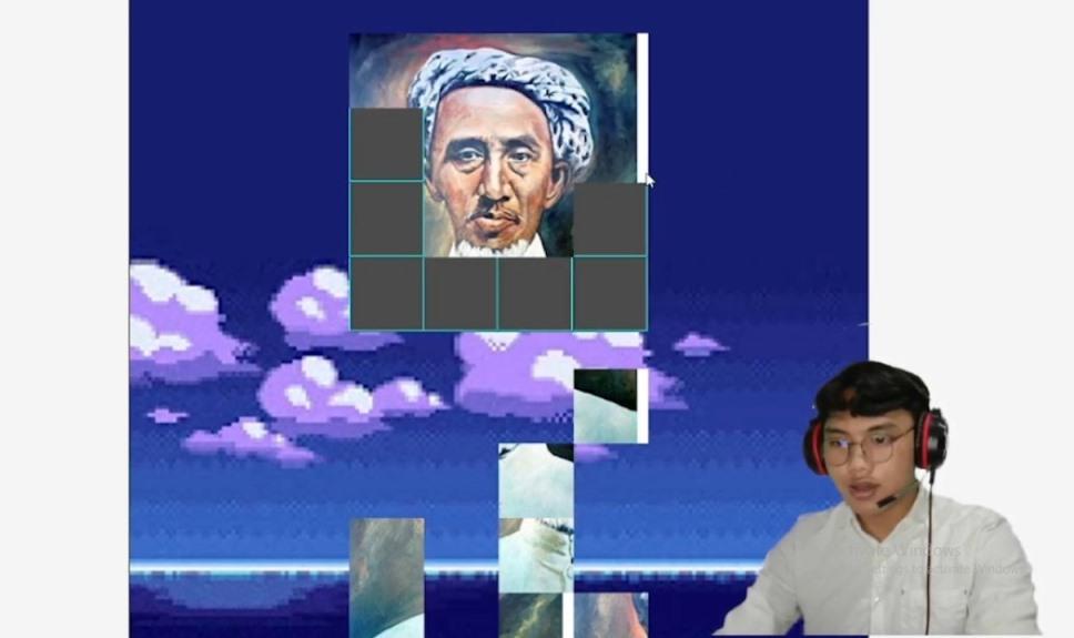 Lail Adventure, game edukasi Kemuhammadiyahan karya lima mahasiswa Jurusan Teknik Informatika (TI) UMM berhasil diciptakan.