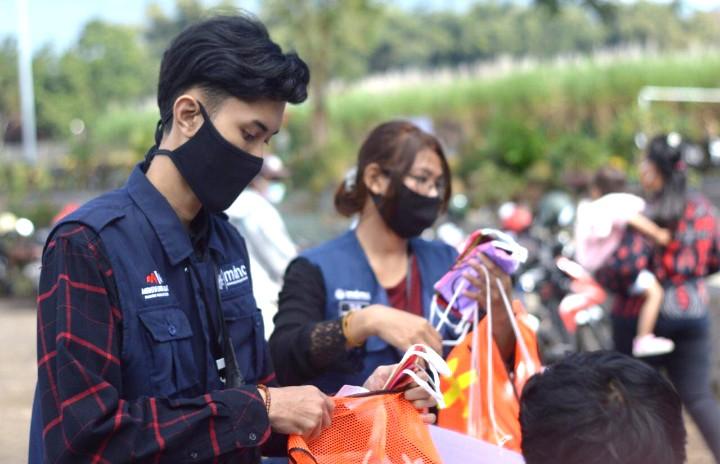 Begini Kiprah Mahasiswa Relawan Siaga Bencana (Maharesigana) Universitas Muhammadiyah Malang (UMM) selama pandemi Covid-19.