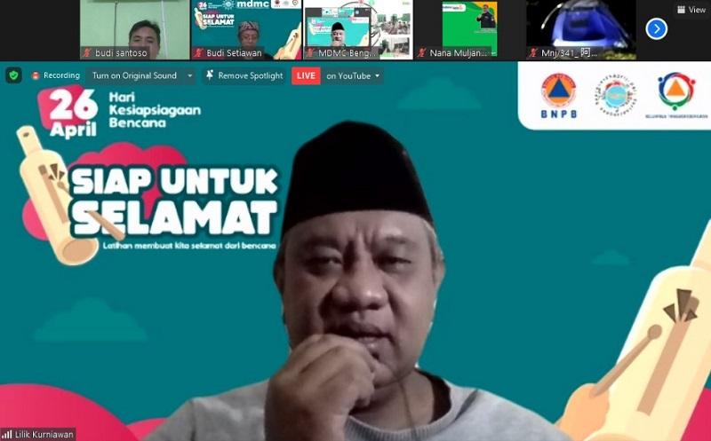 MDMC menyarankan agar warga Muhammadiyah paham tentang bencana disampaikan Budi Setiawan, Jumat (26/3/21).
