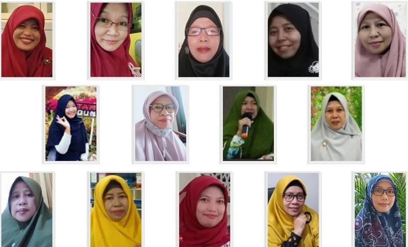 Srikandi literasi Pimpinan Cabang Aisyiyah (PCA) Kecamatan Manyar Gresik meluncurkan buku Catatan Heroik Perempuan Tangguh.