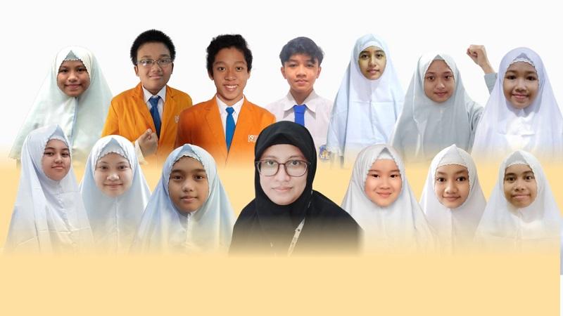 Siswa Spemdalas meraih 14 prestasi di event nasional Madrasah Sains Competition (MSC)  yang diselenggarakan Pelatihan Olimpiade Sains Indonesia (POSI) Medan, Ahad (28/2/21).