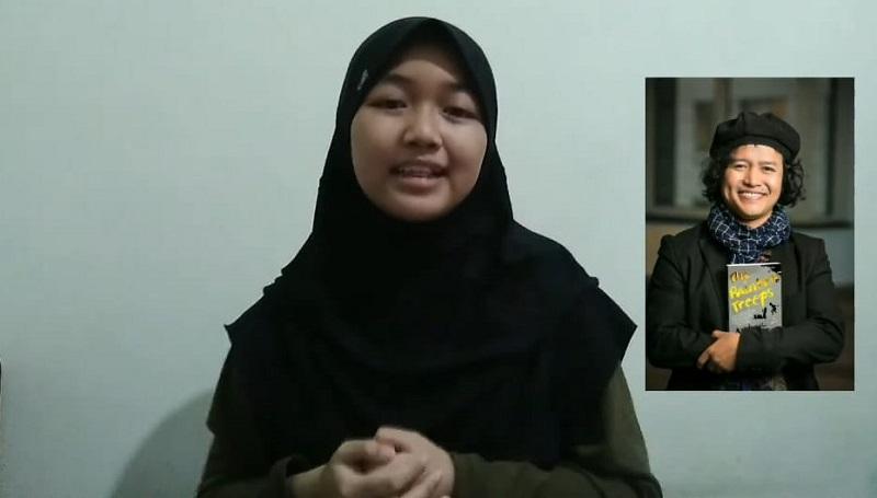 Idolakan Andrea Hirata, siswa SMP Muhammadiyah 12 GKB (Spemdalas) Gresik membuat video Inspiratif sebagai tugas akhir sekolah.
