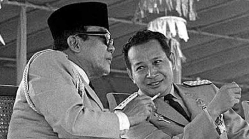 Supersemar, Soeharto dan Bung Karno