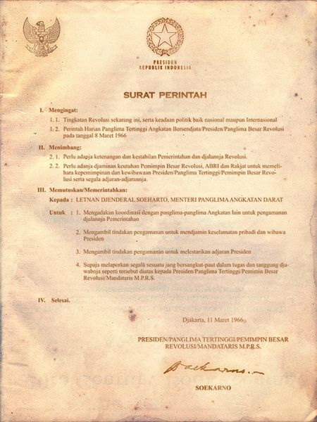 Versi Supersemar