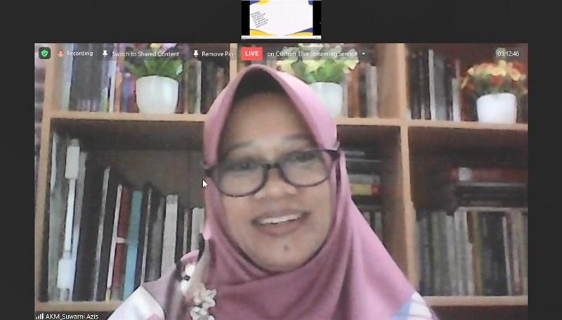 Smamda Surabaya menggelar webinar Bedah Asesmen Kompetensi Minimum (AKM) dengan tema Tips dan Trik Mengerjakan Soal Literasi dan Numerasi, Sabtu (27/2/21).