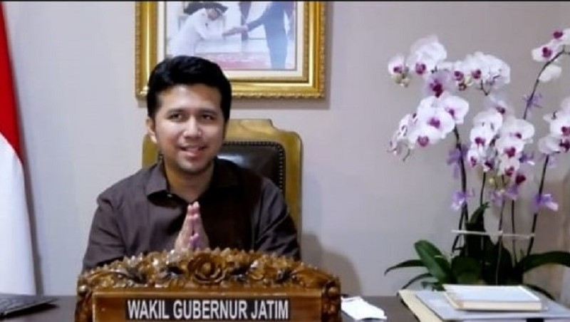 Emil Dardak mengatakan budidaya porang sangat menjanjikan. Hal ini disampaikan dalam webinar di Pimpinan Pusat Jaringan Saudagar Muhammadiyah (JSM), Rabu (3/3/21).