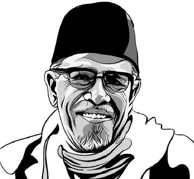 Bukan artis sinetron, tapi Hamka yang harusnya diidolakan para pemuda. Demikian catatan Mahyuddin, guru SMP Muhammadiyah 10 Sidoarjo (Miosi).