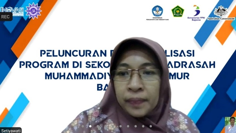 Enam Perguruan Tinggi Muhammadiyah Jawa Timur akan menjalani kolaborasi program literasi dan numerasi disampaikan Enik Setiyawati MPd, Senin (5/4/21).