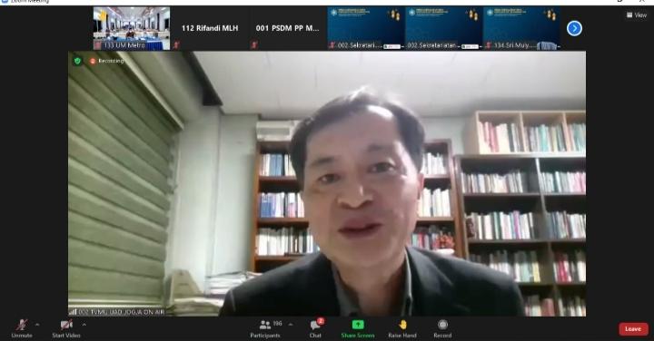 Hyung Jun Kim: Muhammadiyah Harus Bangga dan Sebarkan Prestasinya