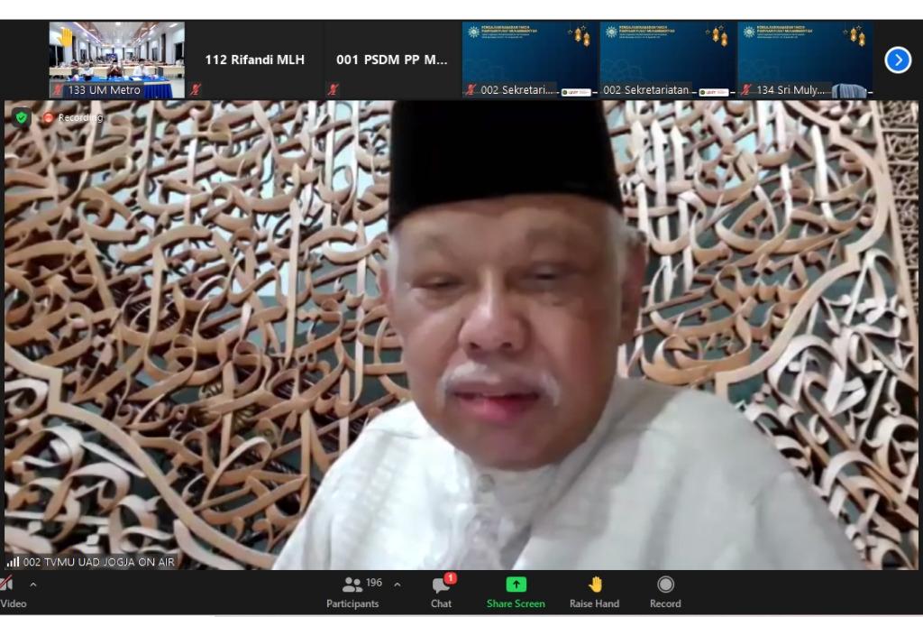 Azyumardi Azra: Abdul Mu'ti Jauh Lebih Layak Jadi Mendikbud (Nely Izzatul/PWMU.CO)