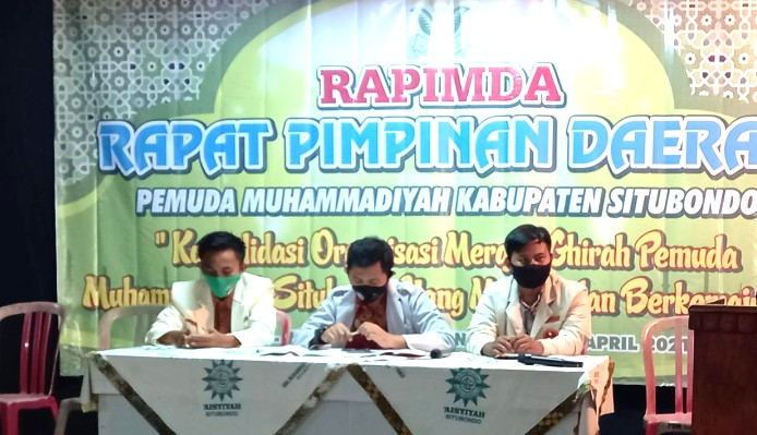 Ketua PWPM Jatim: Jalankan Khittah Perjuangan Pemuda Muhammadiyah. Pesan itu disampaikan Dikky Syadqomullah di Rapimda PDPM Situbondo, Selasa (20/4/2021).