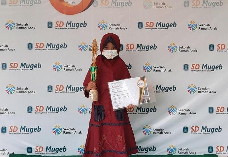 SD Mugeb menyediakan panggung kreasi tingkat Nasional dengan nama Mugeb's Champion Zone (MCZ) disampaikan M Nor Qomari SSi, Selasa (12/4/21).