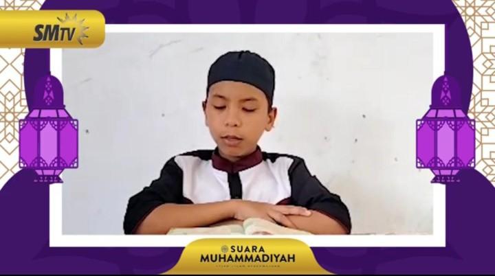 Santri ini raih juara I Lomba Tartil Quran tingkat nasional. Dia adalah Afzalu Rahman  santri Pondok Pesantren Modern MBS Haji Suyoto Watulimo Kabupaten Trenggalek.