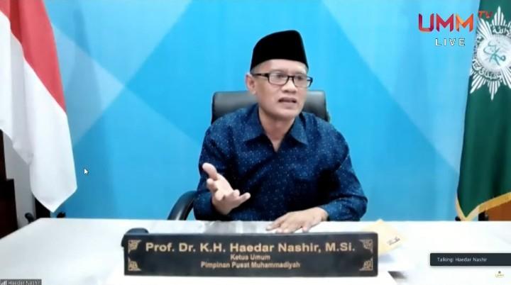 Warga Muhammadiyah harus bawa kemaslahatan, bukan jadi masalah. Hal itu diungkapkan oleh Ketua Umum Pimpinan Pusat (PP) Muhammadiyah Prof Dr H Haedar Nashir MSi.