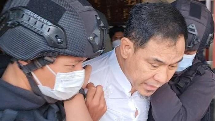 Munarman ditangkap