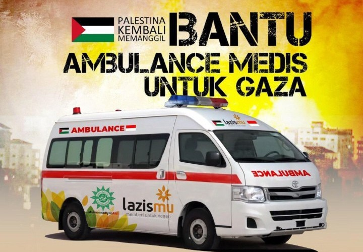 Ambulans untuk Palestina