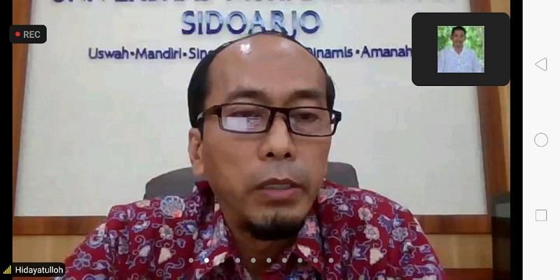 Merdeka Belajar menjadi momen sekolah Muhammadiyah untuk bisa mengembangkan keunggulan pendidikan disampaikan Dr Hidayatullah MSi, Kamis (27/5/21).