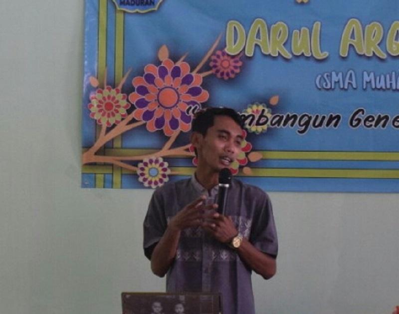 Darul Arqam SMA Muhammadiyah 3 (Muga) Parengan Maduran Lamongan digelar dengan mengangkat tema Membangun Generasi Qurani di Era Pandemi, Senin-Jumat (3-7/5/21).