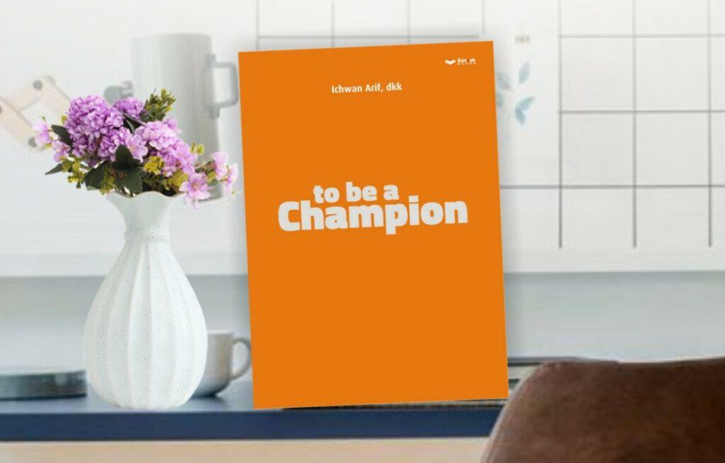 Cerita di Balik Proses Kreatif Buku to be a Champion Spemdalas. Buku dengan cover berwarna orange yang dijadikan kado Milad ke-20, Sabtu (26/6/21) menyimpan cerita menarik dari para penulis.