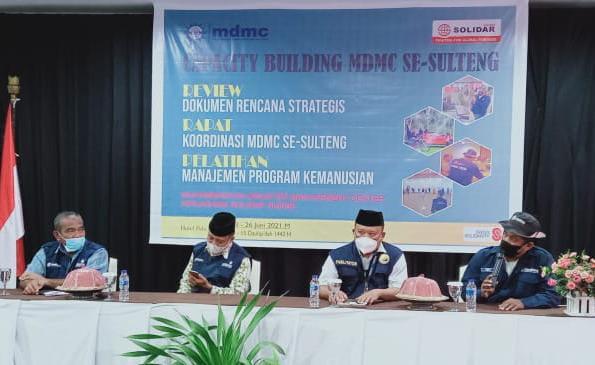 Rakor MDMC se-Provinsi Sulawesi Tengah (Fery/PWMU.CO)