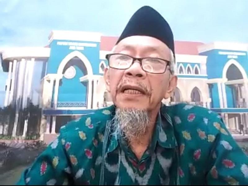 Pendidikan Muhammadiyah harus memberikan ruh teologi dan akhlak dalam konteks-konteks sains disampaikan Ketua Pimpinan Wilayah Muhammadiyah (PWM) Jawa Timur Dr KH Saad ibrahim MA, (2/6/21).
