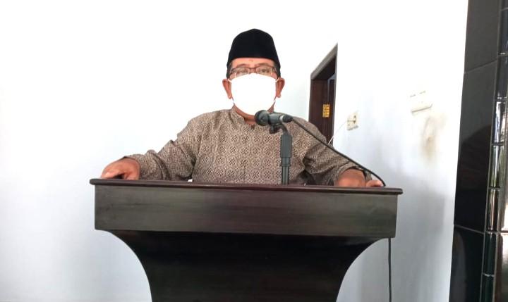 PCM Yosowilangun gelar pesantren tahfidh kilat one juz in ten days di Masjid Darul Quran Yosowilangun Kabupaten Lumajang, Senin (21/6/2021).