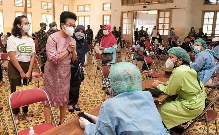 Keraton Yogyakarta target vaksin 5000 warga. Ini untuk terus menambah prosentase warga yang divaksin sehingga mempercepat pencapaian herd immunity.
