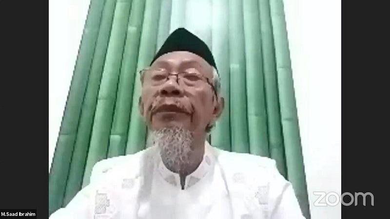 Saad Ibrahim mengatakan Budi Utomo, Rektor Universitas Muhammadiyah Lamongan (Umla) adalah orang yang sangat tawadhu disampaikan dalam taziyah online, Rabu (28/7/21).
