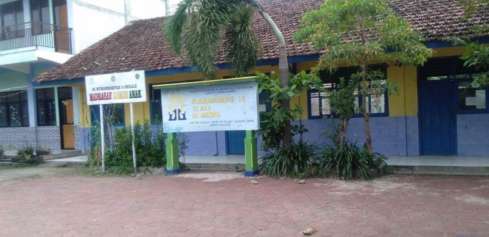 MI Muhammadiyah 14 Megale Kedungadem, Bojonegoro, selenggarakan workshop pembelajaran penggunaan Google Meet pada para guru.