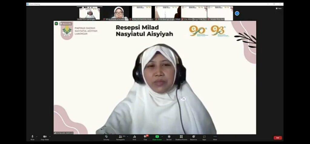 Aini Sukriyah MPdI: Berjuang di Nasyiah tidak mudah dan murah (Alfain Jalaluddin/PWMU.CO)