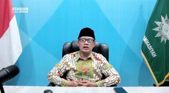 Haedar Nashir: Rajut lagi jiwa spirit hijrah dan perjuangan kemerdekaan. Hal itu terungkap saat sambutan Pengajian Umum PP Muhammadiyah, Jumat (13/8/21).