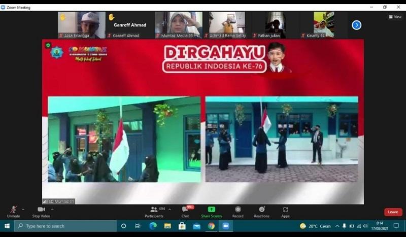 SDMumtaz mengadakan lomba Instagram dalam menyambut Tahun Baru Islam 1443 H dan Hari Ulang Tahun (HUT) KE-76 RI, Selasa (17/8/21).