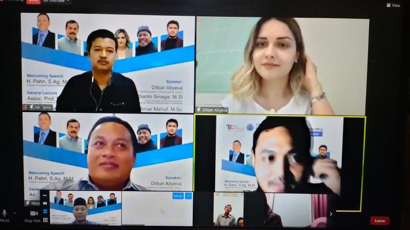 SMK Mutu Gondanglegi Kabupaten Malang merintis program kuliah ke luar negeri melalui kegiatan webinar internasional dengan menghadirkan pihak kampus asing, Sabtu (21/8/21).
