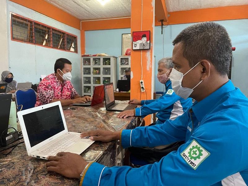 SMK Muhammadiyah 2 Taman Sidoarjo menggelar 2 kegiatan dari program Kementerian Pendidikan, Kebudayaan, dan Ristek, Rabu-Kamis (8-9/9/21).