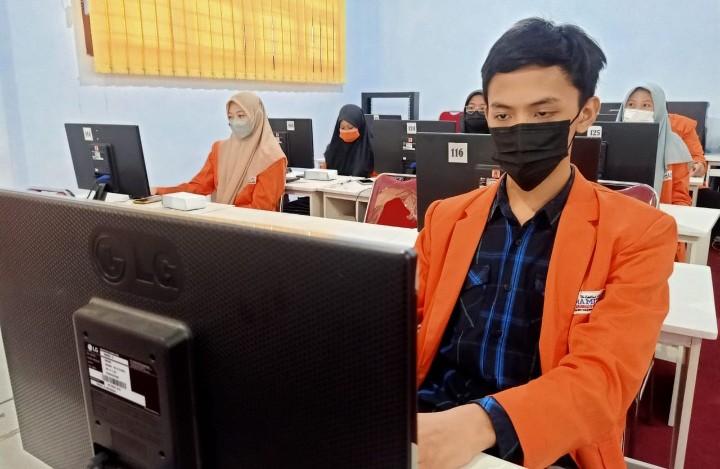 Gladi bersih Asesmen Nasional digelar SMA Muhammadiyah 1 Taman (Smamita) Kabupaten Sidoarjo pada Rabu-Kamis (8-9/9/2021).