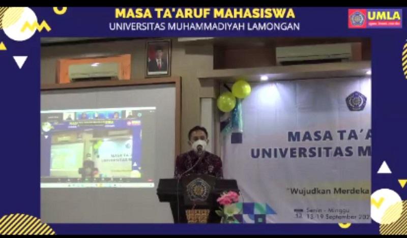 Pesan Rektor UMLA Dr Abdul Aziz Alimul Hidayat SKep Ns MKes pada peserta Mastama, kualitas mahasiswa harus ditingkatkan untuk mendukung mutu kampus di level nasional.