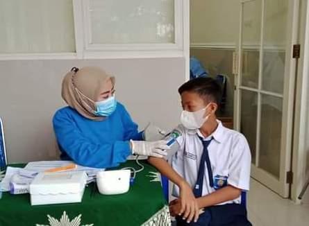 Vaksinasi Berhadiah es krim